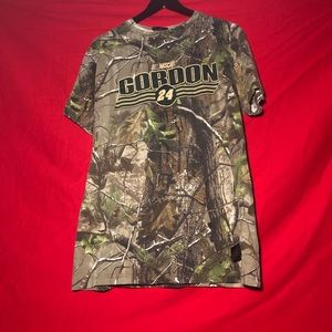 Vintage Jeff Gordon Chase Realtree Racing Camo Tee